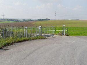 Einfahrt von Wülfrath