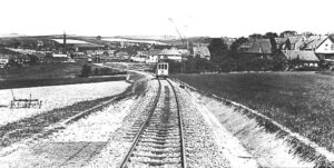 Straßenbahn Stadtgrenze Wülfrath